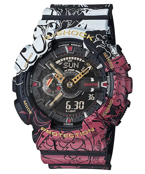 G-SHOCK X ONE PIECE LIMITED EDITION GA-110JOP-1A4JR (JAPAN SET)