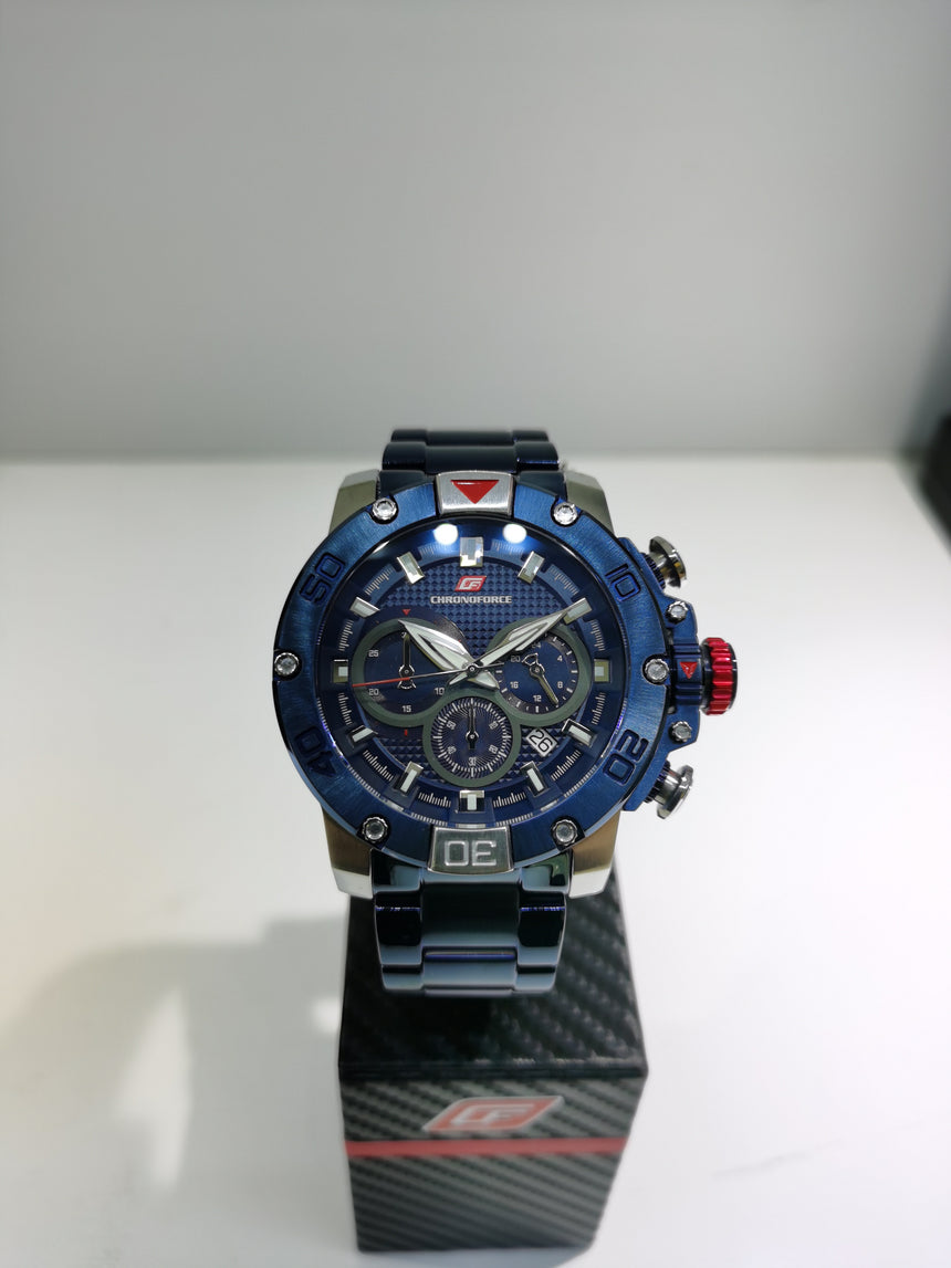 CHRONOFORCE QUARTZ - CF5257SSBLUE