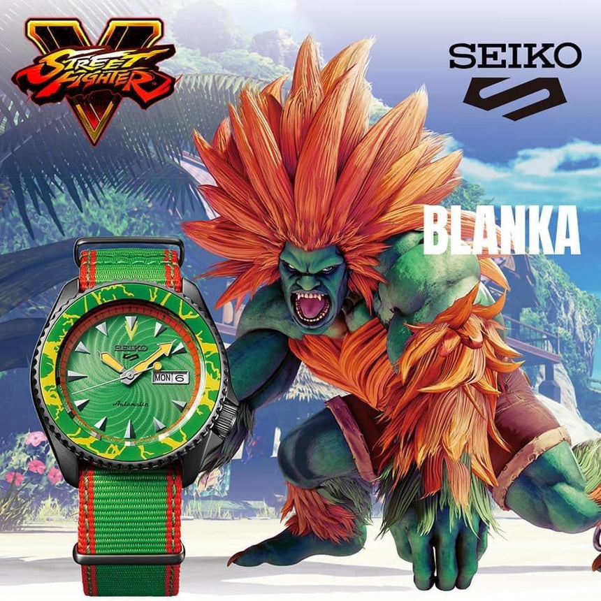SEIKO 5 Sports Limited Edition - SRPF23K1 BLANKA