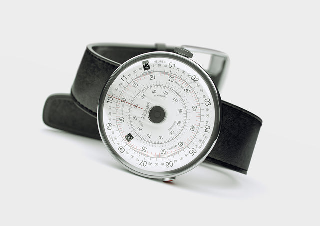 KLOKERS KLOK-01-D2 Grey / Matte Black Leather