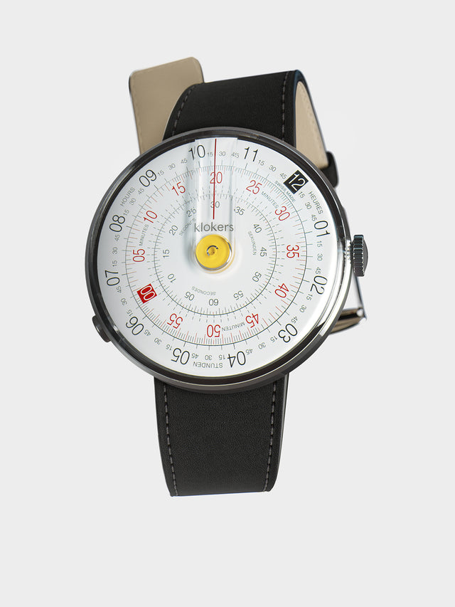 KLOKERS KLOK-01-D1 Yellow / Matte Black Leather