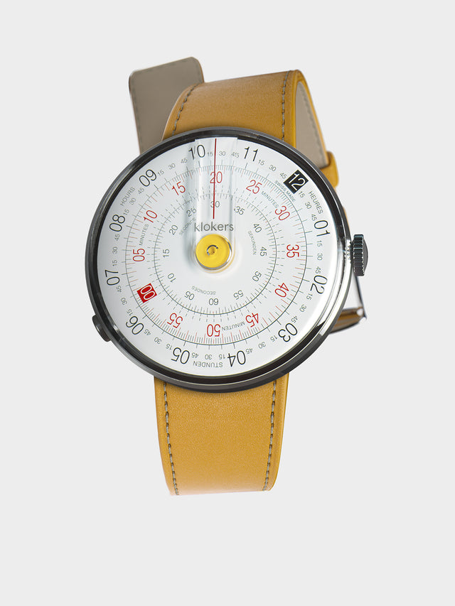 KLOKERS KLOK-01-D1 Yellow / Newport Yellow Leather