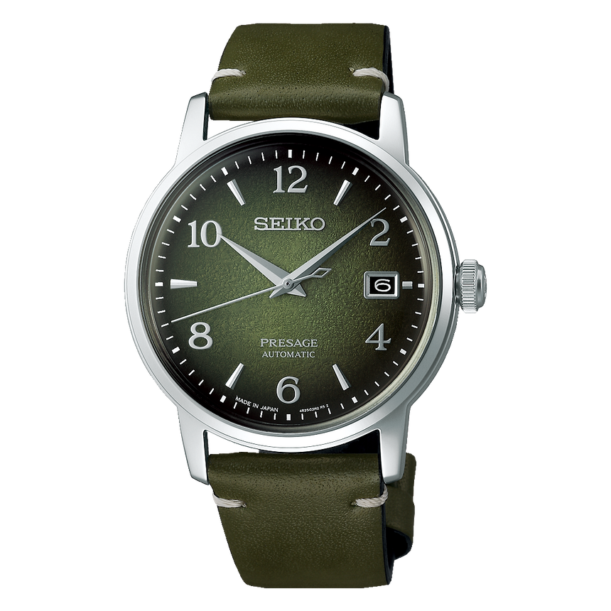 "SEIKO PRESAGE AUTOMATIC COCKTAIL TIME ""MACHA"" LIMITED EDITION - SRPF41J1"