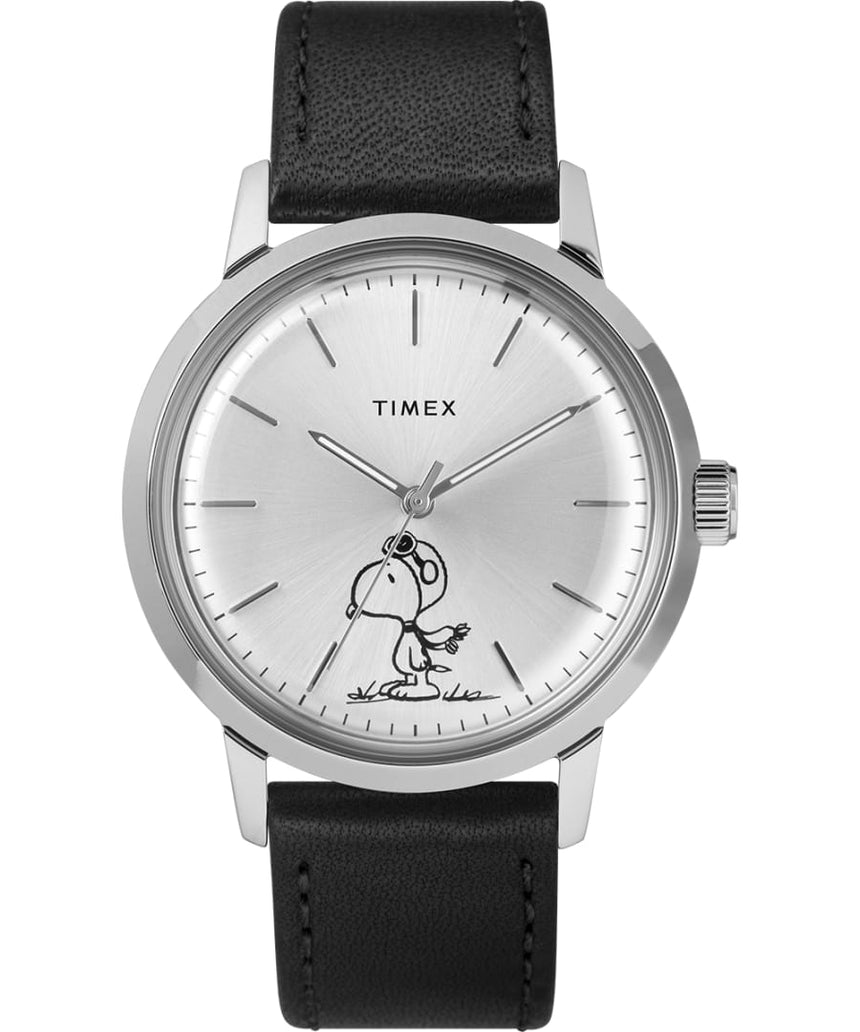 TIMEX - Marlin Automatic featuring Snoopy as Flying Ace TW2R94800 (Coming Soon in Sept)