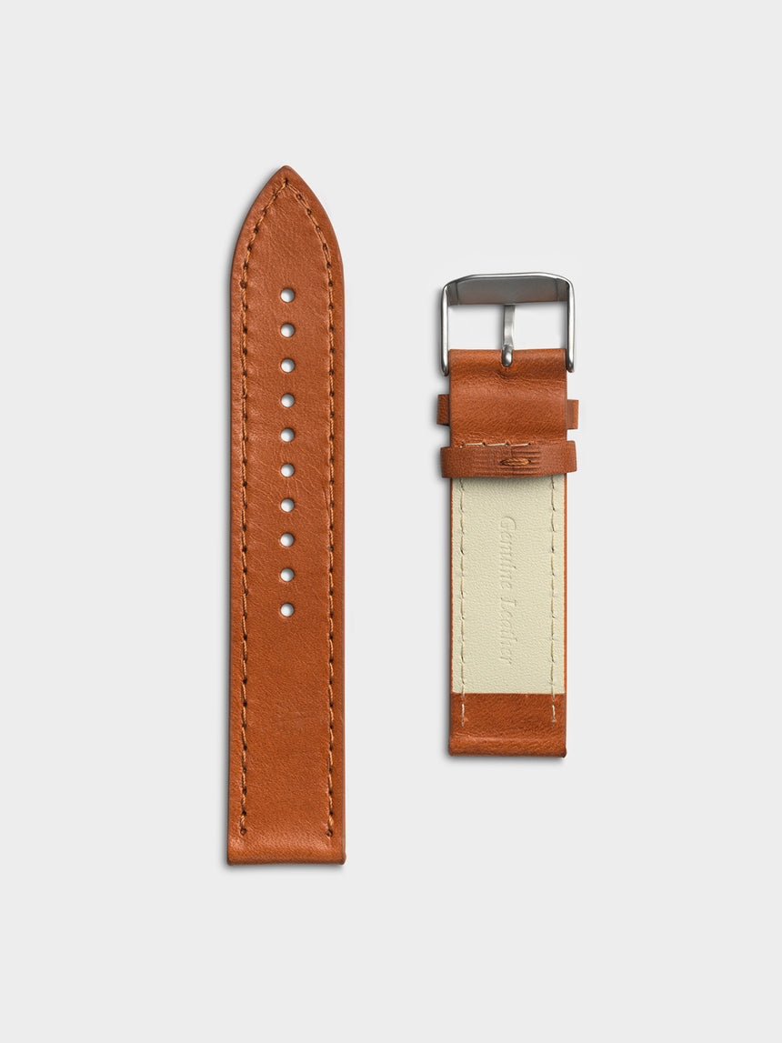EONE Bradley Voyager Brown Leather Strap
