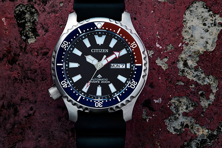 CITIZEN PROMASTER FUGU NY0110 -13E (NEW)