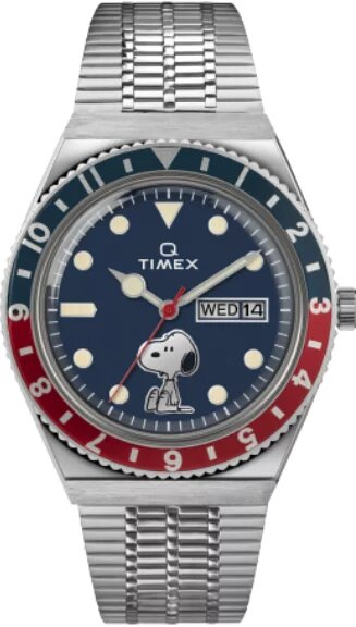 Q Timex Reissue x Snoopy TW2U71300 (Coming Soon in Sept)