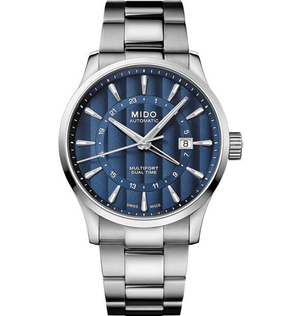 MIDO MULTIFORT DUAL TIME M038.429.11.041.00