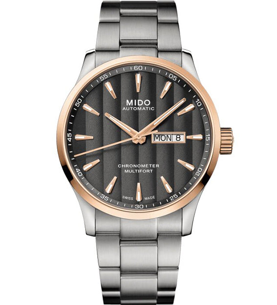 MIDO MULTIFORT CHRONOMETER 1 M038.431.21.061.00