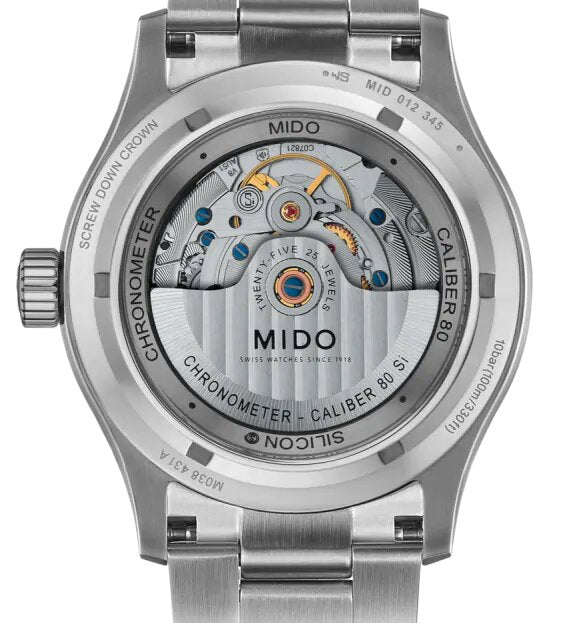 MIDO MULTIFORT CHRONOMETER 1 M038.431.11.031.00
