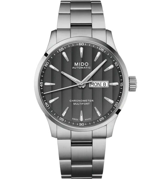 MIDO MULTIFORT CHRONOMETER 1 M038.431.11.061.00