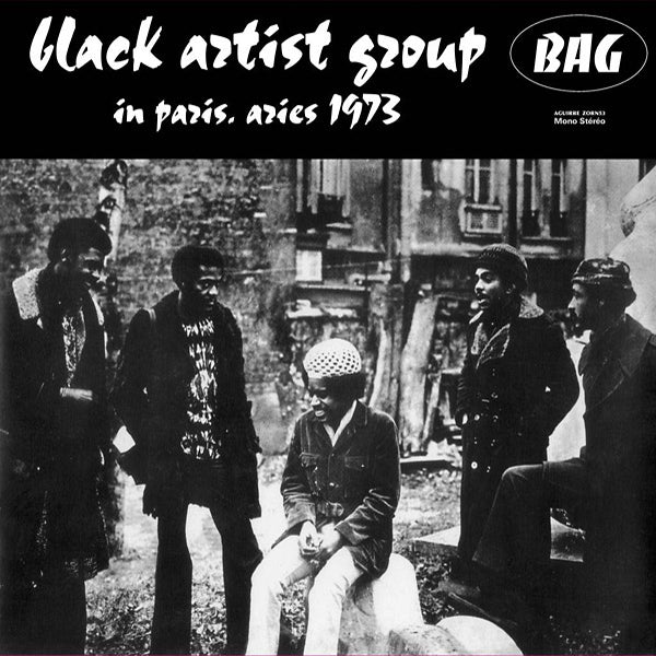 Black Artists Group - In Paris, Aries 1973 LP