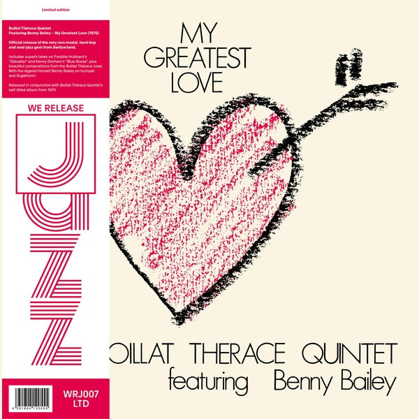 Boillat Therace Quintet with Benny Bailey - My Greatest Love LP