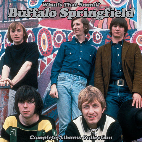 Buffalo Springfield - What's That Sound? Complete Albums Collection 5xLP