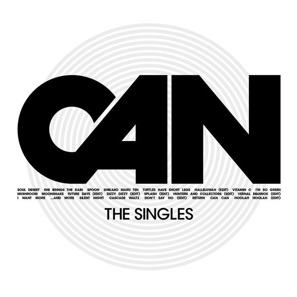 Can - The Singles 3xLP