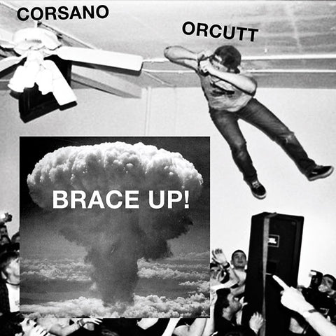 Chris Corsano & Bill Orcutt - Brace Up! LP
