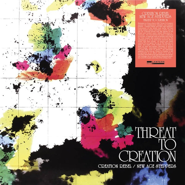 Creation Rebel & New Age Steppers - Threat to Creation LP