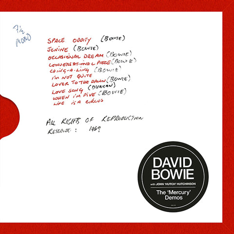 David Bowie - Mercury Demos Box Set
