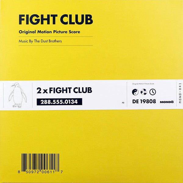 Dust Brothers - Fight Club OST 2xLP