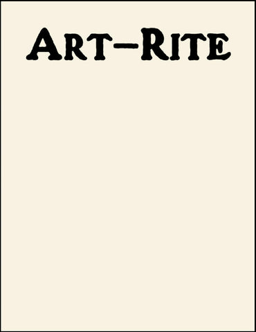 Edit DeAk & Walter Robinson - Art-Rite Book