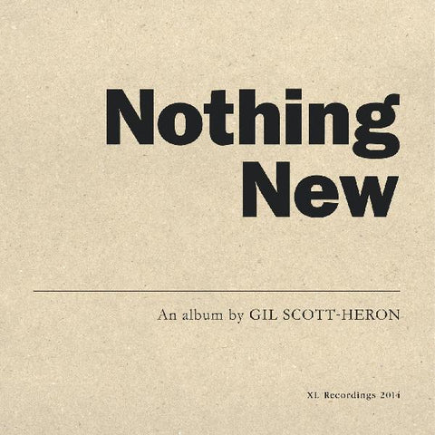 Gil Scott-Heron - Nothing New LP