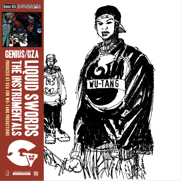 GZA - Liquid Swords: Instrumentals 2xLP