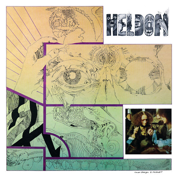 Heldon - Electronique Guerilla LP