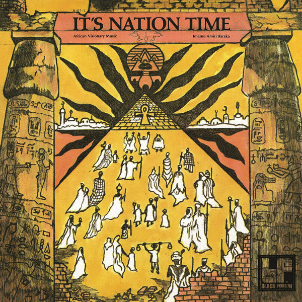 Imamu Amiri Baraka - It's Nation Time: African Visionary Music LP