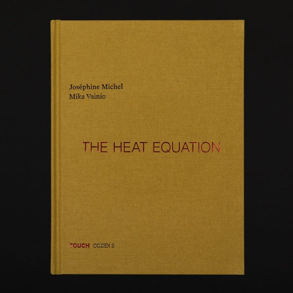 Josephine Michel & Mika Vainio - The Heat Equation Book+CD