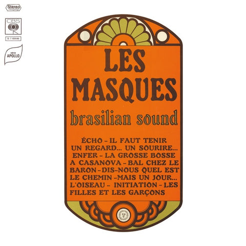 Les Masques - Brasilian Sound LP