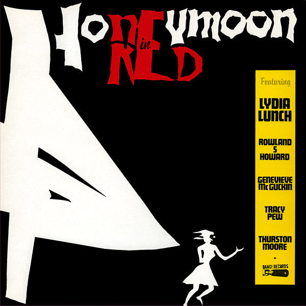 Lydia Lunch - Honeymoon In Red LP