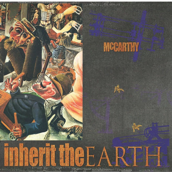 McCarthy - The Enraged Will Inherit The Earth 2xLP+7""