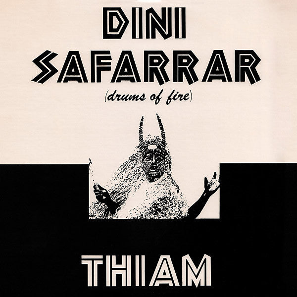 Mor Thiam - Dini Safarrar (Drums Of Fire) LP