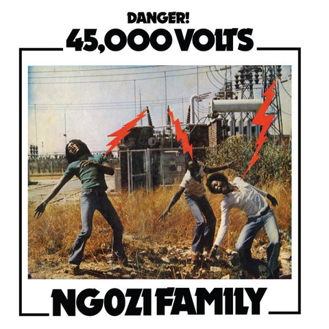 Ngozi Family - 45,000 Volts LP