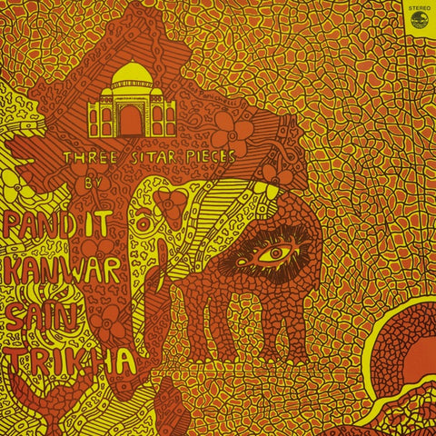 Pandit Kanwar Sain Trikha - Three Sitar Pieces LP