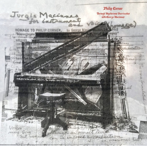 Philip Corner - Through Mysterious Barricades With George Maciunas LP