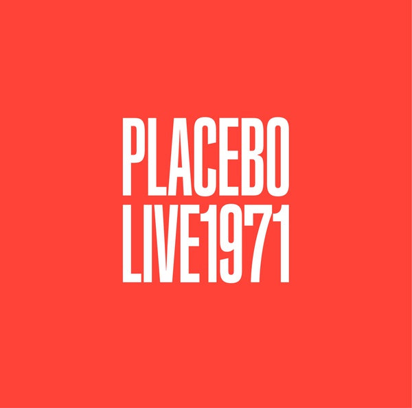 Placebo - Live 1971 LP
