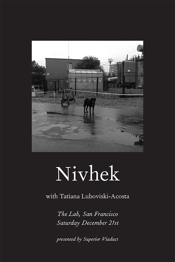 Nivhek - December 21st at The Lab