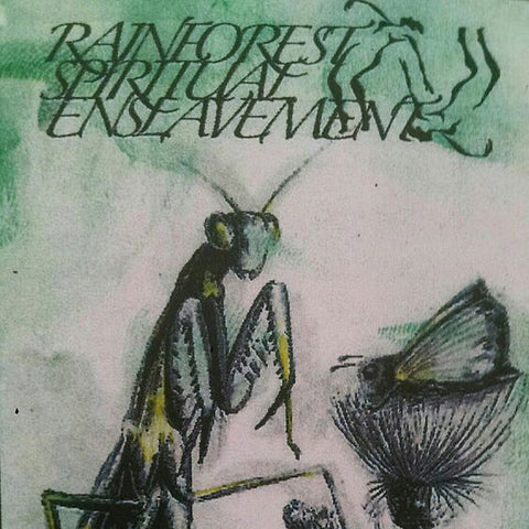 Rainforest Spiritual Enslavement - Green Amulet Crafts Supernatural Qualities LP
