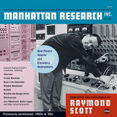 Raymond Scott - Manhattan Research Inc. 3xLP