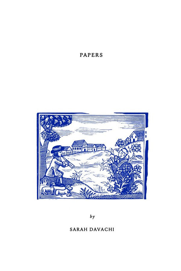 Sarah Davachi - Papers Book