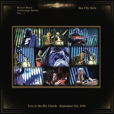 Sun City Girls - Live At The Sky Church: September 3rd, 2004 LP+DVD