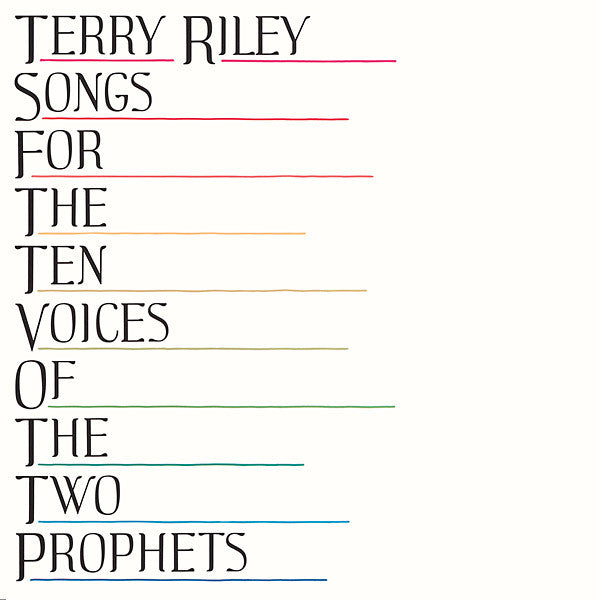 Terry Riley - Songs For The Ten Voices Of The Two Prophets LP