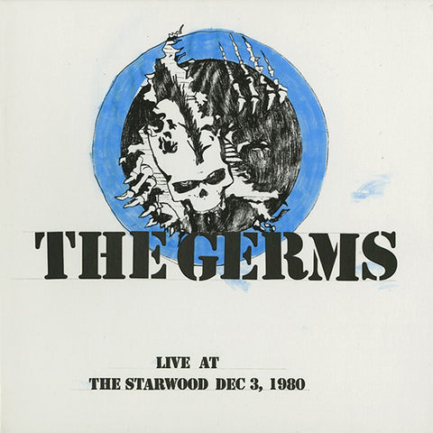 The Germs - Live At The Starwood, Dec. 3, 1980 2xLP