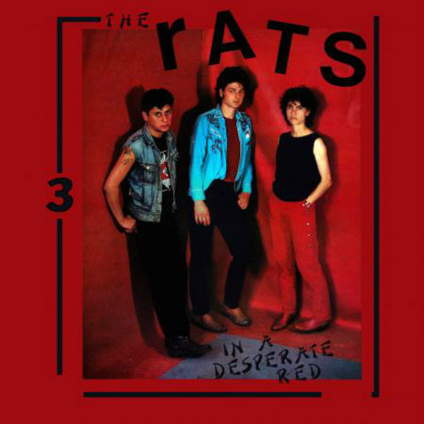The Rats - In A Desperate Red LP