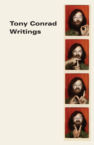 Tony Conrad - Writings Book