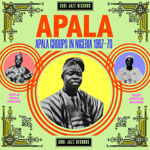 Various - Apala: Apala Groups in Nigeria 1967-70 2xLP