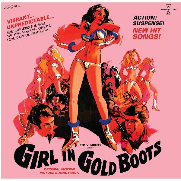 Various - Girl In Gold Boots OST LP+DVD