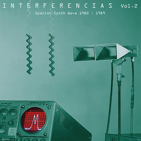 Various - Interferencias Vol. 2: Spanish Synth Wave 1980-1989 2xLP