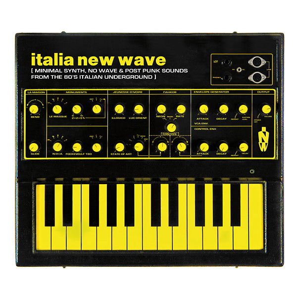 Various - Italia New Wave: Minimal Synth, No Wave, & Post Punk Sounds From The '80s Italian Underground LP